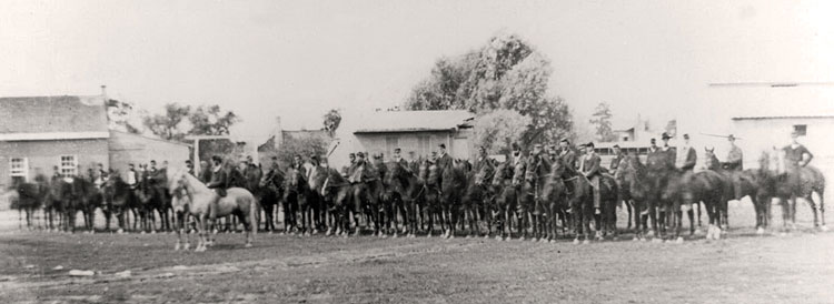Cavalry at Carlisle Barracks